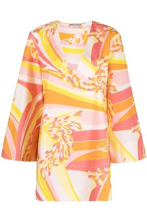 Emilio Pucci Women Party Dresses - Lily print mini beach dress