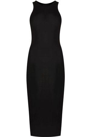 WARDROBE.NYC Women Midi Dresses - Sleeveless ribbed midi dress