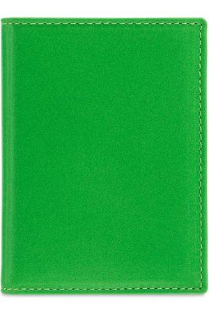 Comme des Garçons Super Fluo Leather Vertical Wallet