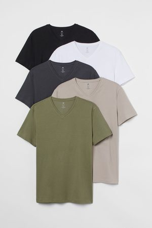 H&M 5-pack Slim Fit T-shirts