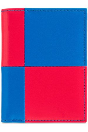 Comme des Garçons Fluo Squares Vertical Leather Wallet