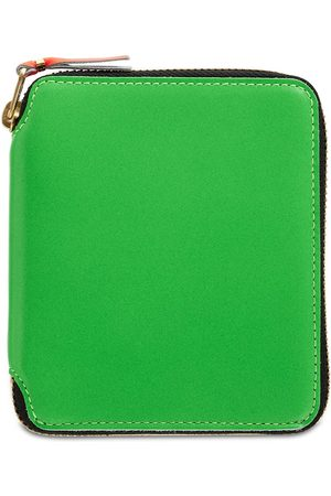 COMME DES GARÇONS WALLET Super Fluo Leather Wallet
