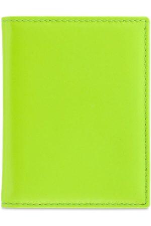 COMME DES GARÇONS WALLET Super Fluo Leather Vertical Wallet