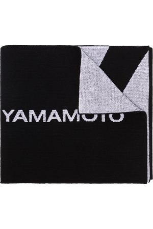 Y-3 Classic Logo knitted scarf