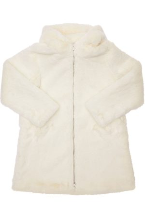 Bomboogie Hooded Faux Fur Coat