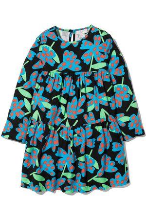 Stella McCartney Spotty Flowers-print twill dress