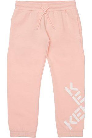 Kenzo Logo Print Cotton Blend Sweatpants