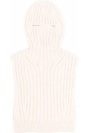 AMBUSH Chunky knit balaclava - Neutrals