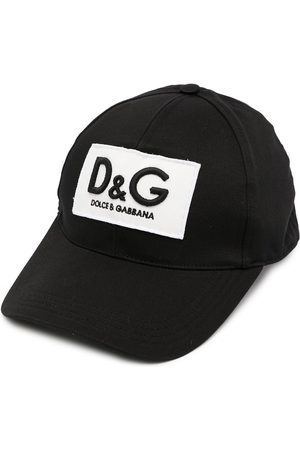 Dolce & Gabbana Men Caps - Embroidered-logo baseball cap