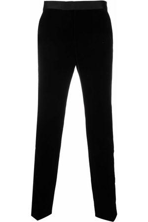 Karl Lagerfeld Men Formal Pants - Nite side-stripe tailored trousers