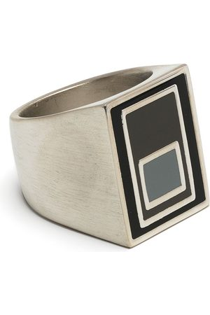 A-cold-wall* Men Rings - Vertical laser-etched ring