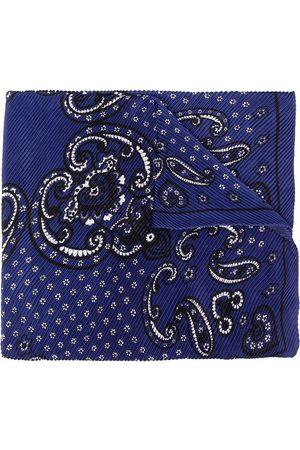 Sandro Paris Women Hair Accessories - Bandana-print plissé scarf
