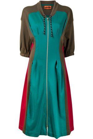 Colville Women Dresses - Kicker panelled hooded dress