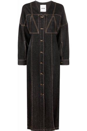 AERON Women Jeans - Abuela V-neck denim dress