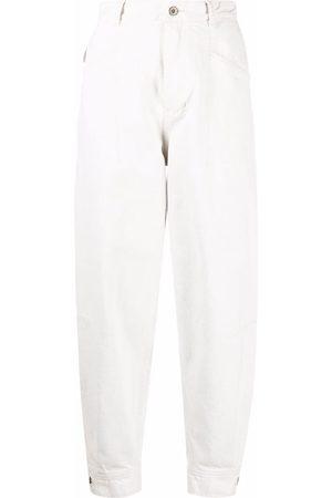 Aeron Women High Waisted - Santo high-waisted tapered jeans - Neutrals