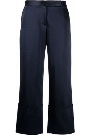 Aeron Women Straight Leg Pants - Jose cropped straight-leg trousers