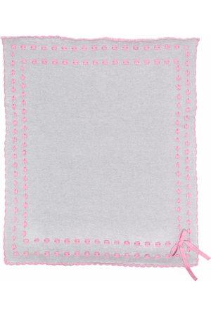 Siola Scarves - Contrast stitching scarf - Grey