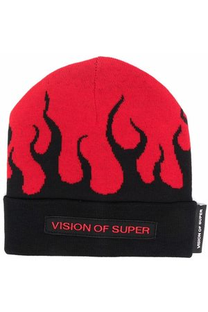Vision Of Super Kids Beanies - Flame beanie hat