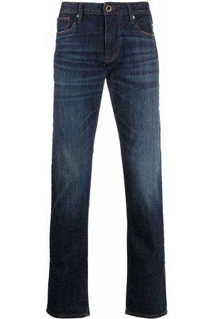 Emporio Armani Men Straight - Mid-rise straight jeans