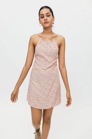 Motel Val Floral Mini Dress