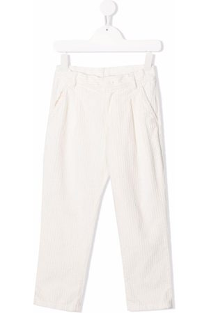 Douuod Kids Boys Straight Leg Pants - Corduroy straight-leg trousers