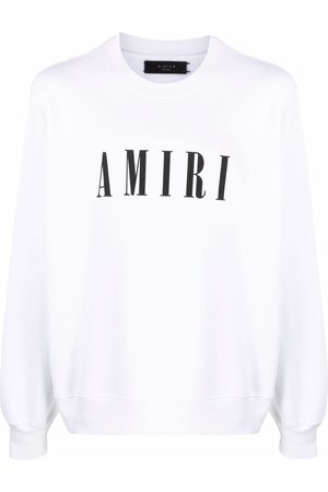 AMIRI Men Long sleeves - Logo-print long-sleeve sweatshirt