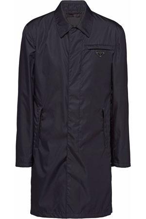 Prada Re-Nylon button-front raincoat