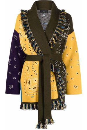 Alanui Paisley-print cardi-coat