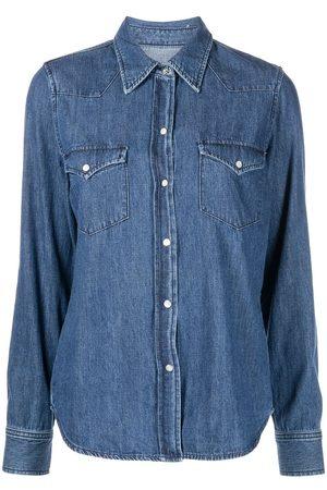 Nili Lotan Women Denim - Button-down denim shirt
