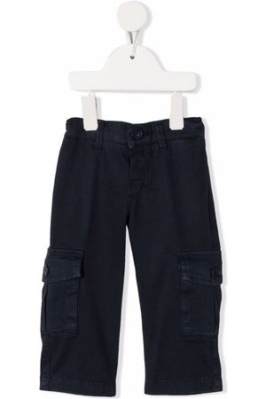 FAY KIDS Straight-leg cargo trousers