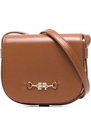 Elisabetta Franchi La Mia Bambina Faux-leather crossbody bag