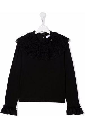 Monnalisa TEEN ruffle collar blouse