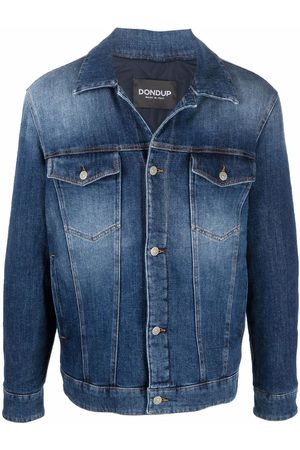 DONDUP Faded-effect denim jacket