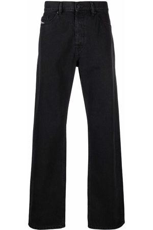 Diesel Logo-patch straight-leg jeans