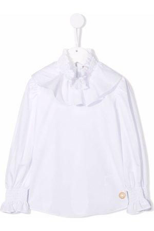 ELIE SAAB JUNIOR Girls Blouses - Frilled collar blouse