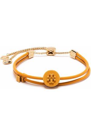 Tory Burch Charm-detail Double T bracelet