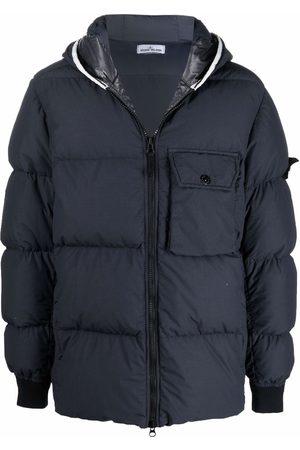 Stone Island Padded zip-up down coat