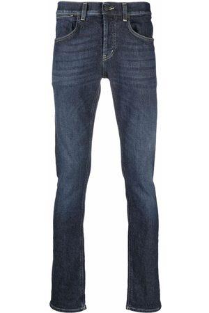 Dondup Logo-patch slim-fit jeans
