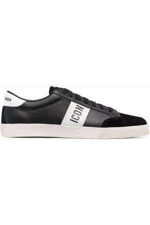 Dsquared2 Icon print low-top sneakers