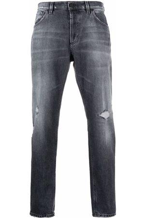 DONDUP Men Straight - Distressed straight-leg jeans