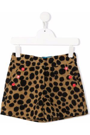 The Marc Jacobs Kids Leopard print shorts