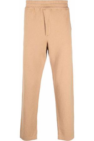 Pt01 Men Straight Leg Pants - Elasticated-waist trousers - Neutrals