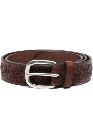Orciani Floral-print belt
