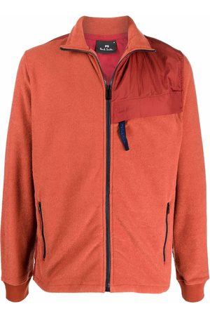 PS Paul Smith High-neck zip-up track jacket
