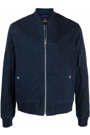 PS Paul Smith Men Bomber Jackets - Navy bomber jacket