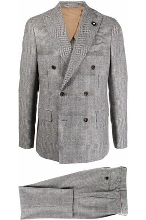 Lardini Two-piece double-breasted suit - Grey