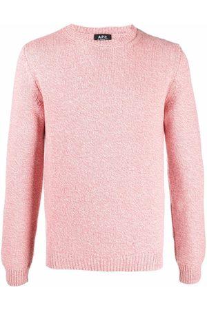 A.P.C. Marl-knit wool jumper