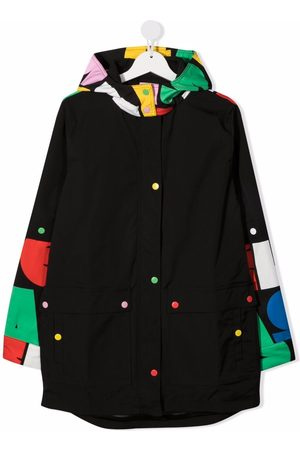 Stella McCartney Kids Logo-print parka coat