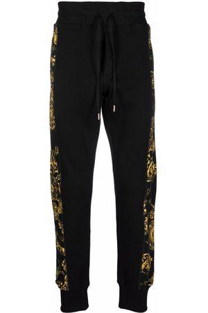 VERSACE Men Sweatpants - Baroque-print track pants