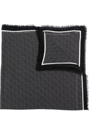 Saint Laurent Polka dot-print scarf
